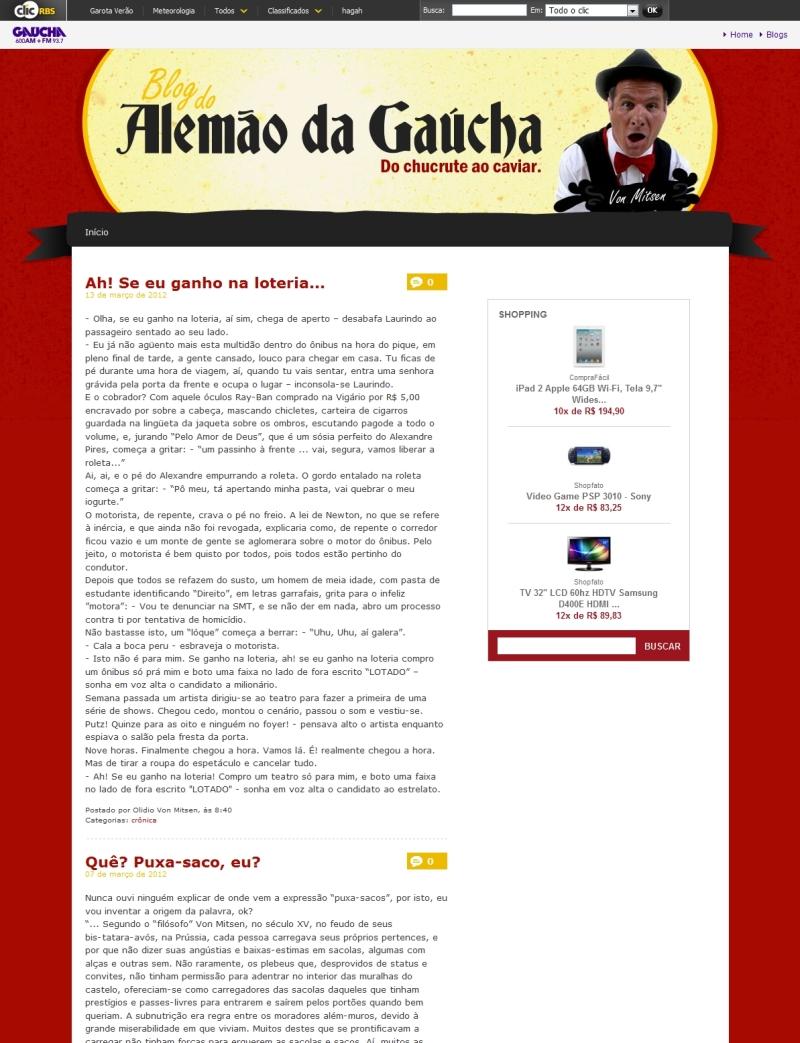Blog do Alemão