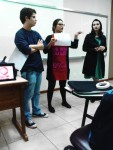 Grupo apresentando